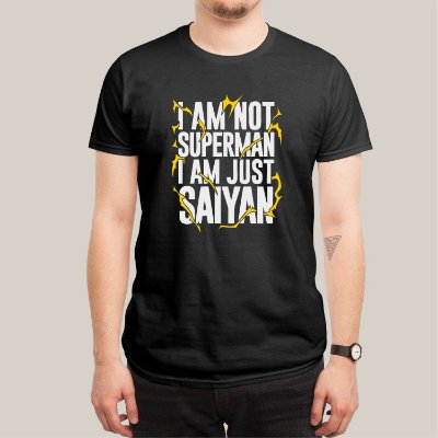 Camiseta I'am Just Saiyan