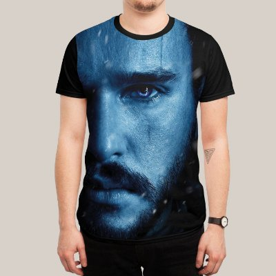 Camiseta Jon Snow Season 7
