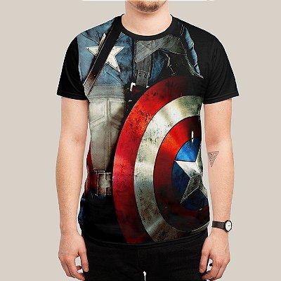camiseta Escudo capitão América