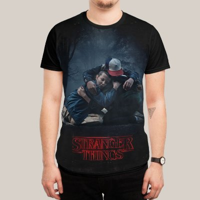 Camiseta Stranger Things Friends