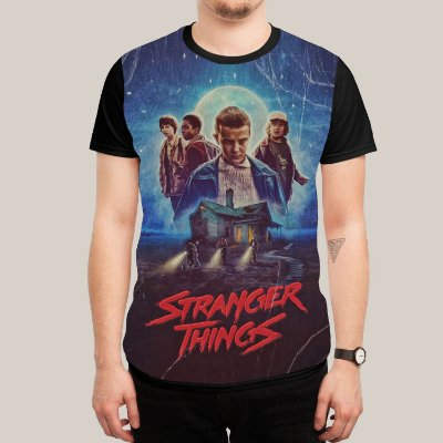Camiseta Stranger Things Vintage