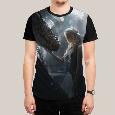 camiseta Daenerys Dragon