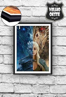 Quadro Dragon Daenerys Targaryen Rei da noite