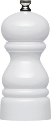 Moedor De Sal/pimenta Branco 12cm Kitchen Craft