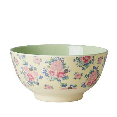 Bowl em Melamina Flores Rice