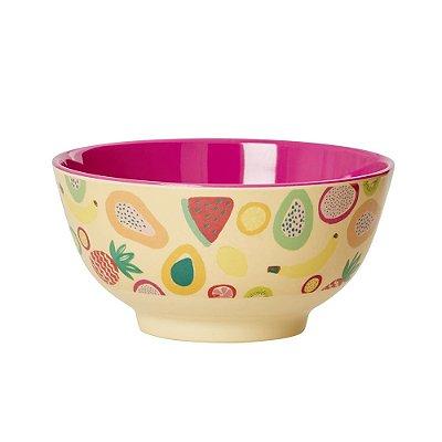 Bowl em Melamina Frutas Rice
