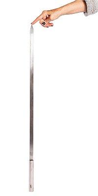 559 - Espeto Simples Estreito Premium 12 mm largura - 85 cm