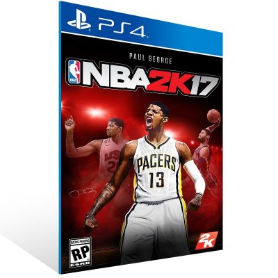Ps4 - NBA 2K17 - Digital Código 12 Dígitos US