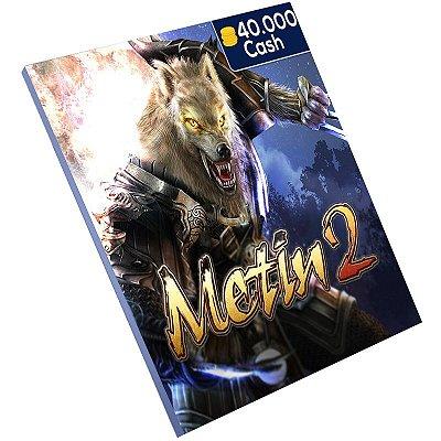 Pc Game - Metin2 40.000 Cash Ongame