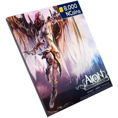 Pc Game - Aion 8.000 Ncoins Level Up