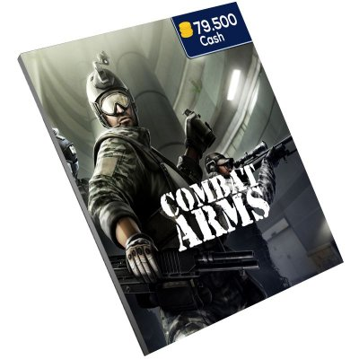 Pc Game - Combat Arms 79.500 Cash Level Up