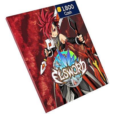 Pc Game - Elsword 1.800 Cash Level Up