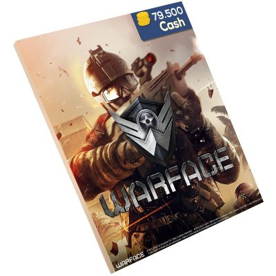 Pc Game - Warface 79.500 Cash Level Up
