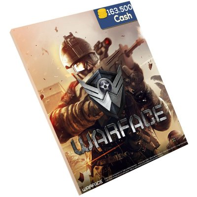Pc Game - Warface 163.500 Cash Level Up