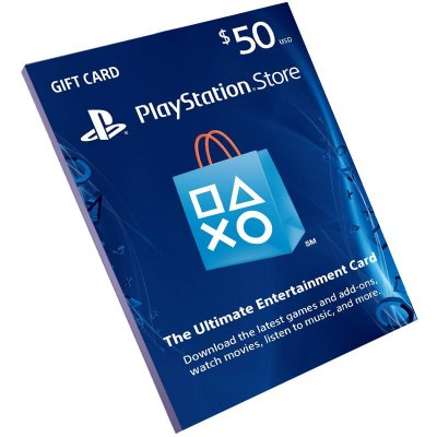 Cartão Pré-Pago Playstation Network $50 Dólares