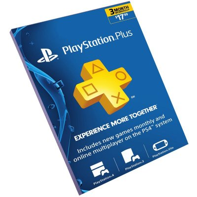 Cartão Playstation Plus 3 Meses USA Americana