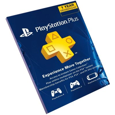 Cartão Playstation Plus 12 Meses USA Americana