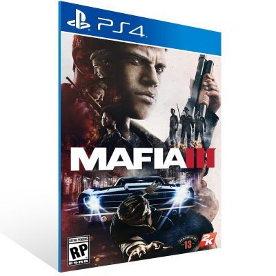 PS4 - Mafia III - Digital Código 12 Dígitos Americano