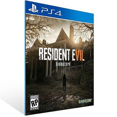 PS4 - Resident Evil 7 - Digital Código 12 Dígitos Americano