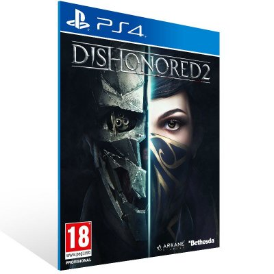 PS4 - Dishonored 2 - Digital Código 12 Dígitos US