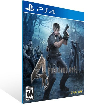 PS4 - Resident Evil 4 - Digital Código 12 Dígitos Americano