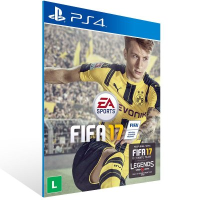 PS4 - FIFA 17 Standard Edition - Digital Código 12 Dígitos Americano