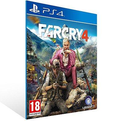 Ps4 - Far Cry 4 - Digital Código 12 Dígitos US