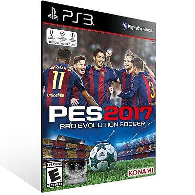 Ps3 - Pro Evolution Soccer 2017 - Digital Código 12 Dígitos US