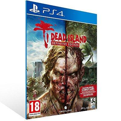 Ps4 - Dead Island Definitive Collection - Digital Código 12 Dígitos US