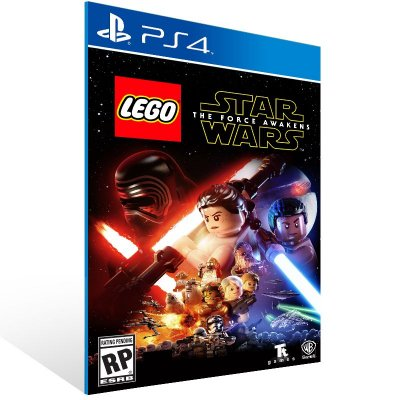 PS4 - LEGO Star Wars The Force Awakens - Digital Código 12 Dígitos US