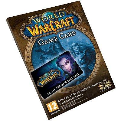 Cartão Pré-Pago World Of Warcraft 60 Dias