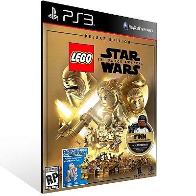 Ps3 - LEGO Star Wars: The Force Awakens Deluxe Edition - Digital Código 12 Dígitos US
