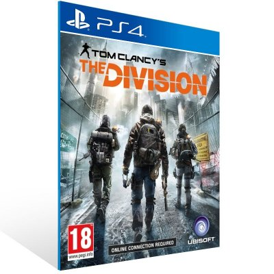 PS4 - Tom Clancy's The Division - Digital Código 12 Dígitos Americano