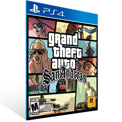 Ps4 - Grand Theft Auto: San Andreas  - Digital Código 12 Dígitos US