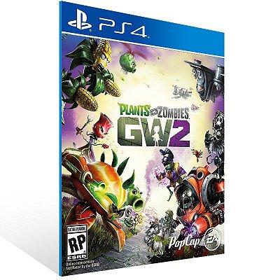 PS4 - Plants vs. Zombies Garden Warfare 2 Standard Edition - Digital Código 12 Dígitos US