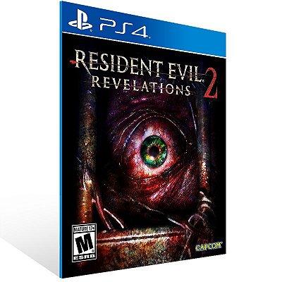 PS4 - Resident Evil Revelations 2 Deluxe Edition - Digital Código 12 Dígitos Americano