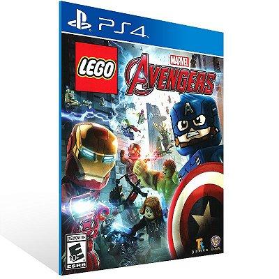 PS4 - LEGO Marvel's Avengers Deluxe Edition - Digital Código 12 Dígitos Americano