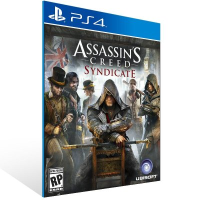 Ps4 - Assassin's Creed Syndicate - Digital Código 12 Dígitos US