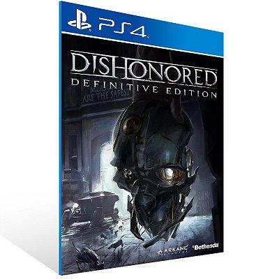 Ps4 - Dishonored Definitive Edition - Digital Código 12 Dígitos US