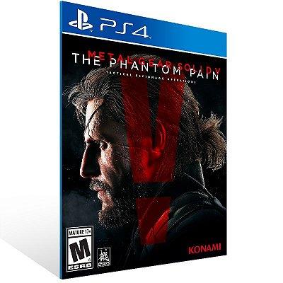 PS4 - Metal Gear Solid V The Pain - Digital Código 12 Dígitos US
