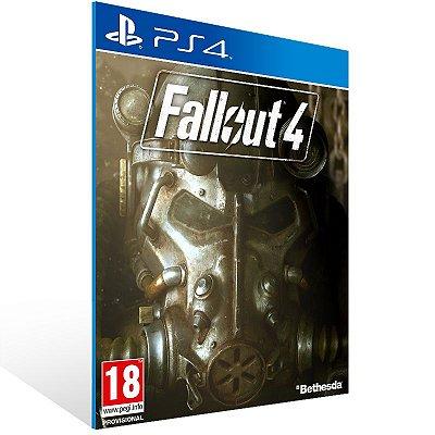 PS4 - Fallout 4 - Digital Código 12 Dígitos Americano