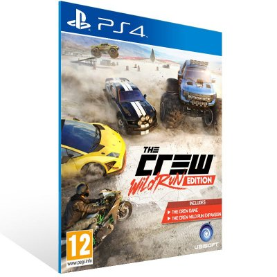 PS4 - The Crew Complete Edition - Digital Código 12 Dígitos US