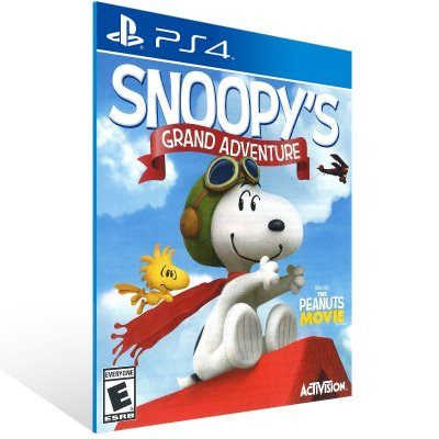 PS4 - The Peanuts Movie: Snoopy's Grand Adventure - Digital Código 12 Dígitos US