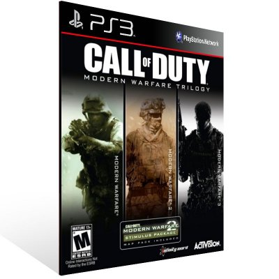 Ps3 - Call of Duty Modern Warfare Bundle - Digital Código 12 Dígitos US
