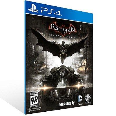 Ps4 - Batman: Arkham Knight - Digital Código 12 Dígitos US