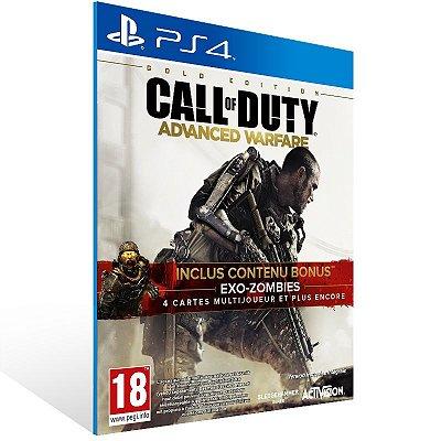 PS4 - Call of Duty: Advanced Warfare Gold Edition - Digital Código 12 Dígitos Americano