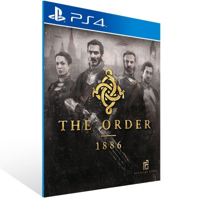 PS4 - The Order 1886 - Digital Código 12 Dígitos Americano