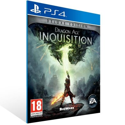 Ps4 - Dragon Age: Inquisition Deluxe Edition - Digital Código 12 Dígitos US