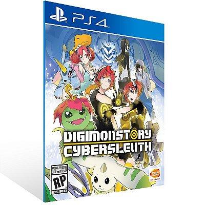 Ps4 - Digimon Story Cyber Sleuth - Digital Código 12 Dígitos US