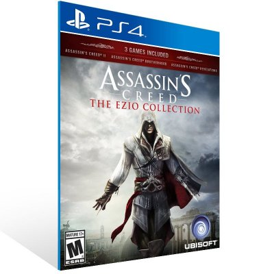 Ps4 - Assassin's Creed The Ezio Collection - Digital Código 12 Dígitos US